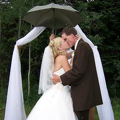 deževni poročni dan