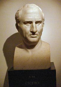 Mark Tulij Cicero, doprstni kip