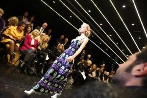 sprehod po modni pisti na Tednu mode v Milanu