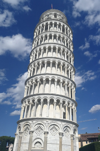 Poševni stolp v Pisi